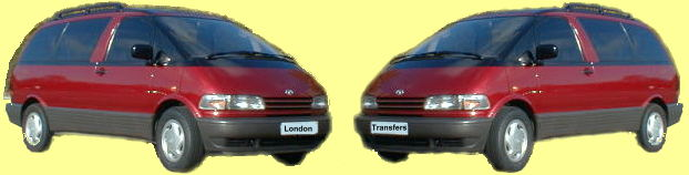 London Airport & Hotel Transfers - Transfers to/from all London airports and Hotels - Heathrow, Gatwick & Stansted.